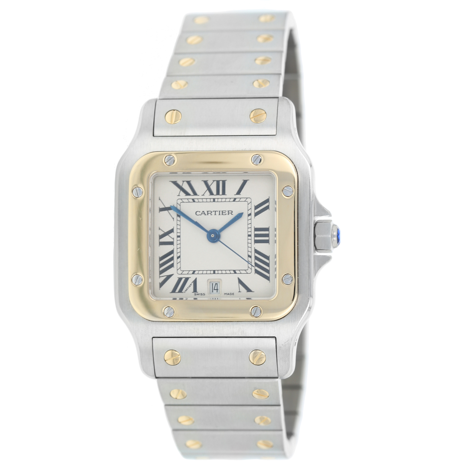 Pre-Owned Santos de Cartier Mens Watch