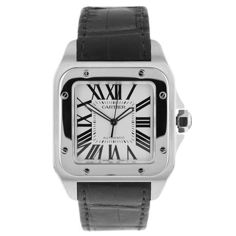 Pre-Owned Santos de Cartier Midsize Watch