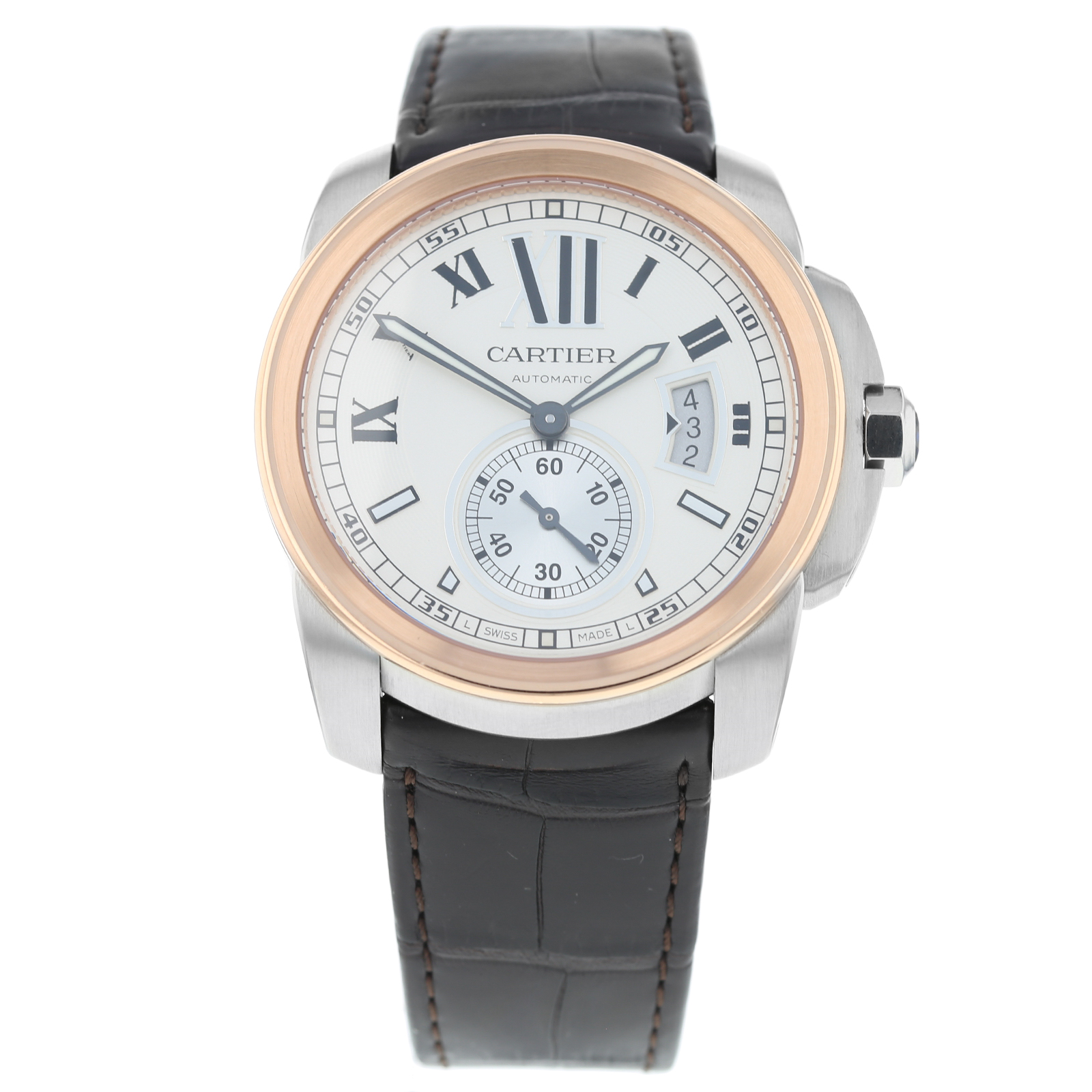 4a0c5f8640d Pre-Owned Calibre de Cartier Mens Watch 3389