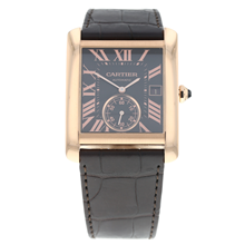 Pre-Owned Cartier Tank MC Mens Watch W5330001/ 3590
