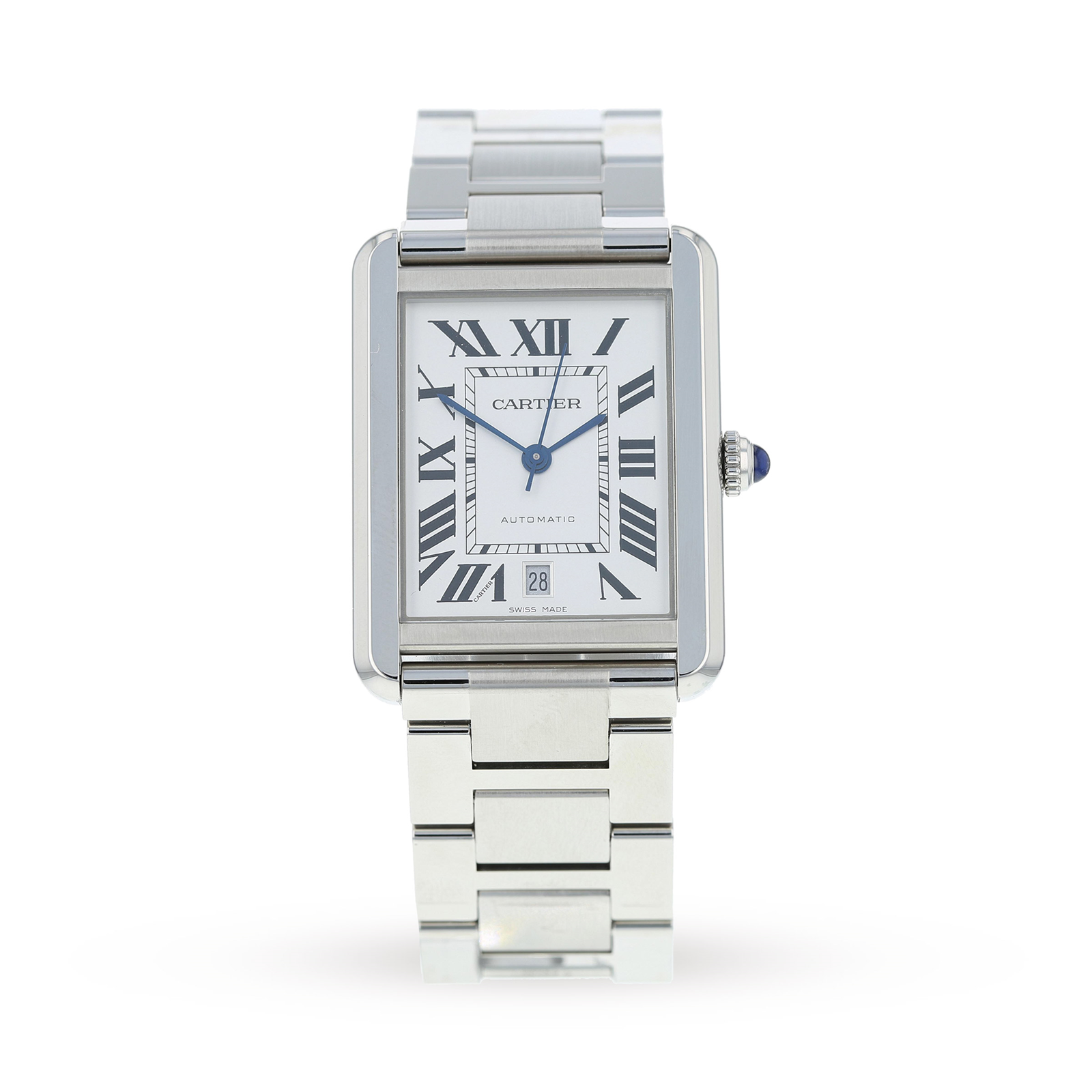 2b07a9aa5d3 Pre-Owned Cartier Tank Solo XL Mens Watch W5200028 3800