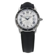 Pre-Owned Cartier Ronde Croisiere Mens Watch WSRN0002/ 3886