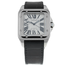 Pre-Owned Cartier Santos 100 Mens Watch W20073X8/3774