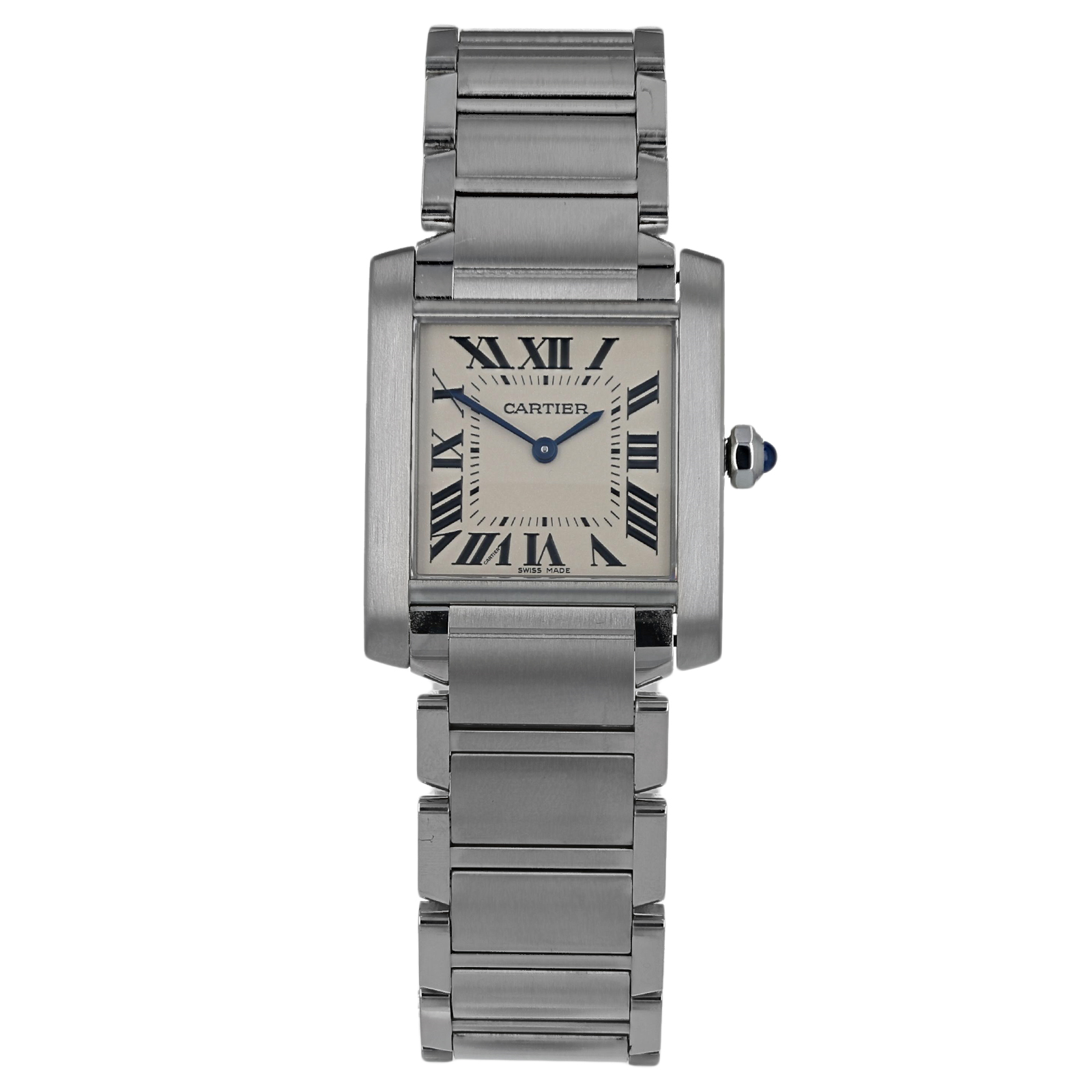 6a24d46aa4479 Pre-Owned Cartier Tank Francaise Ladies Watch WSTA0005 3751