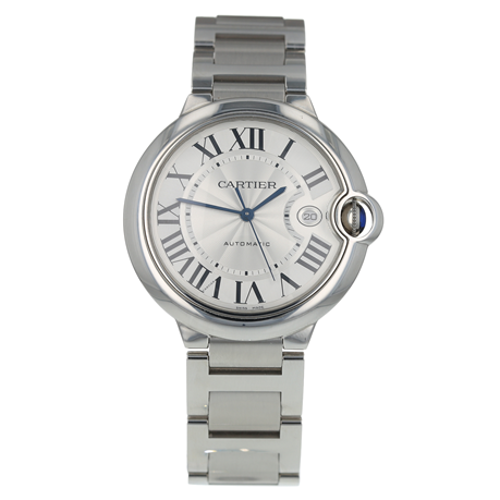 Pre-Owned Cartier Ballon Bleu de Mens Watch W69012Z4/3765