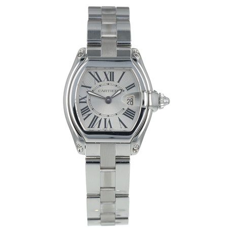 Pre-Owned Cartier Roadster Ladies Watch W62016V3/ 2675