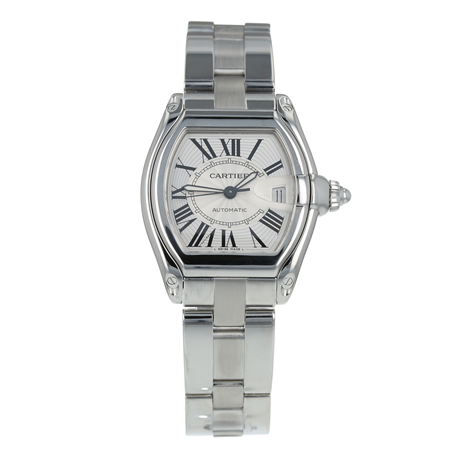 Pre-Owned Cartier Roadster Mens Watch W62025V3/ 2510