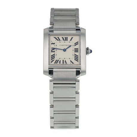 Pre-Owned Cartier Tank Francaise Unisex Watch WSTA0005/ 3751