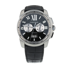Pre-Owned Cartier Calibre de Cartier Mens Watch W7100060/ 3578