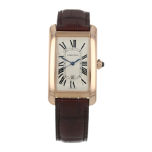 Pre-Owned Cartier Tank Americaine Mens Watch W2609156/2505