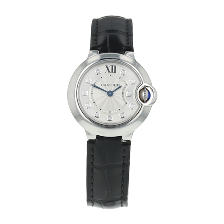 Pre-Owned Cartier Ballon Bleu Ladies Watch W4BB0008/3009