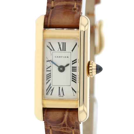 Pre-Owned Cartier Mini Tank Ladies Watch W1501756/1380