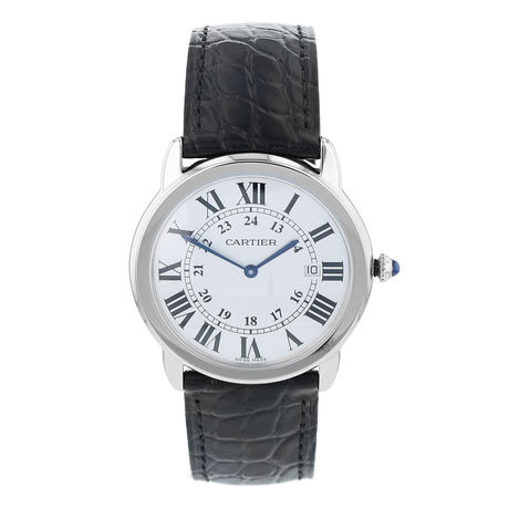Pre-Owned Cartier Ronde Solo Men's Watch