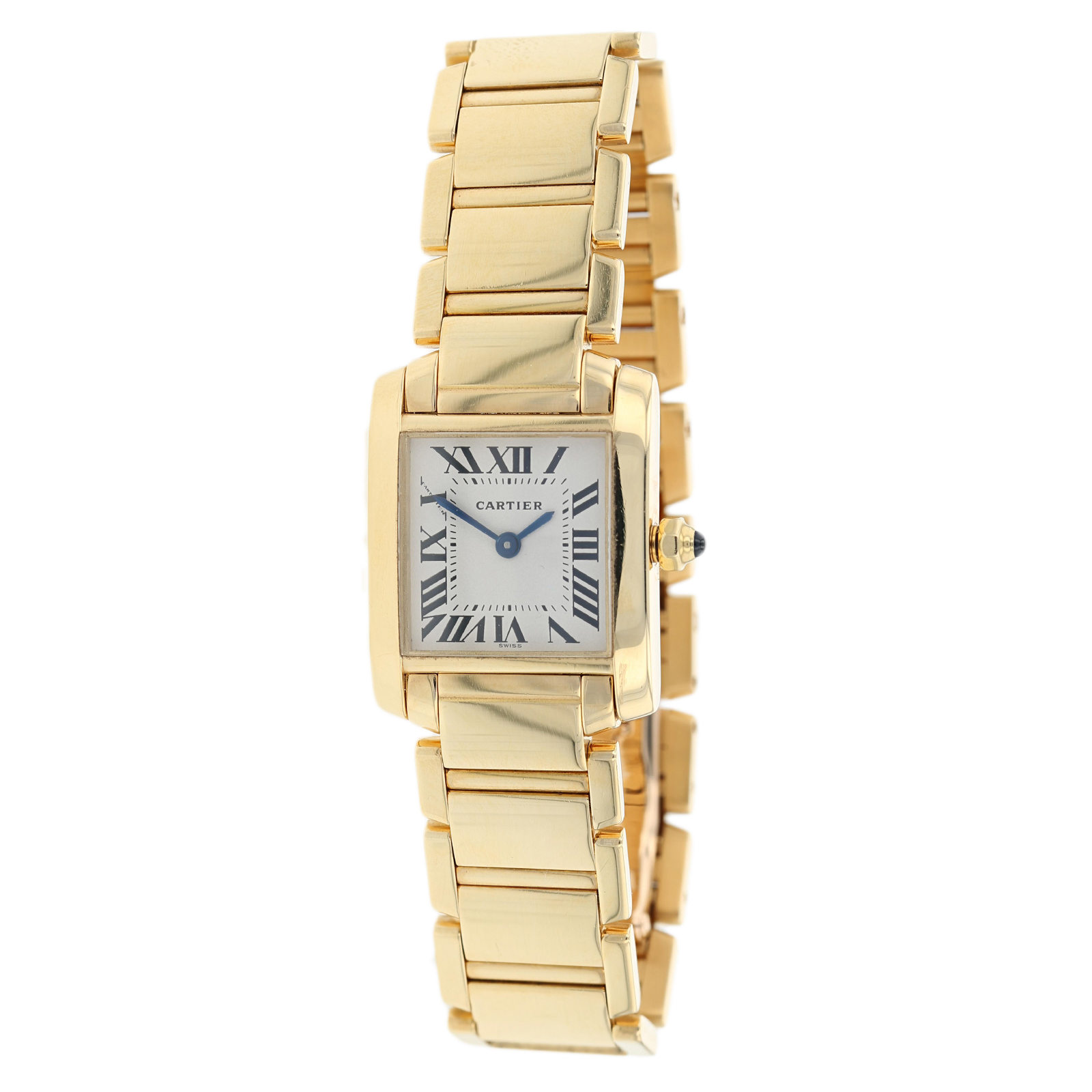 Pre-Owned Tank de Cartier Francais Ladies Watch