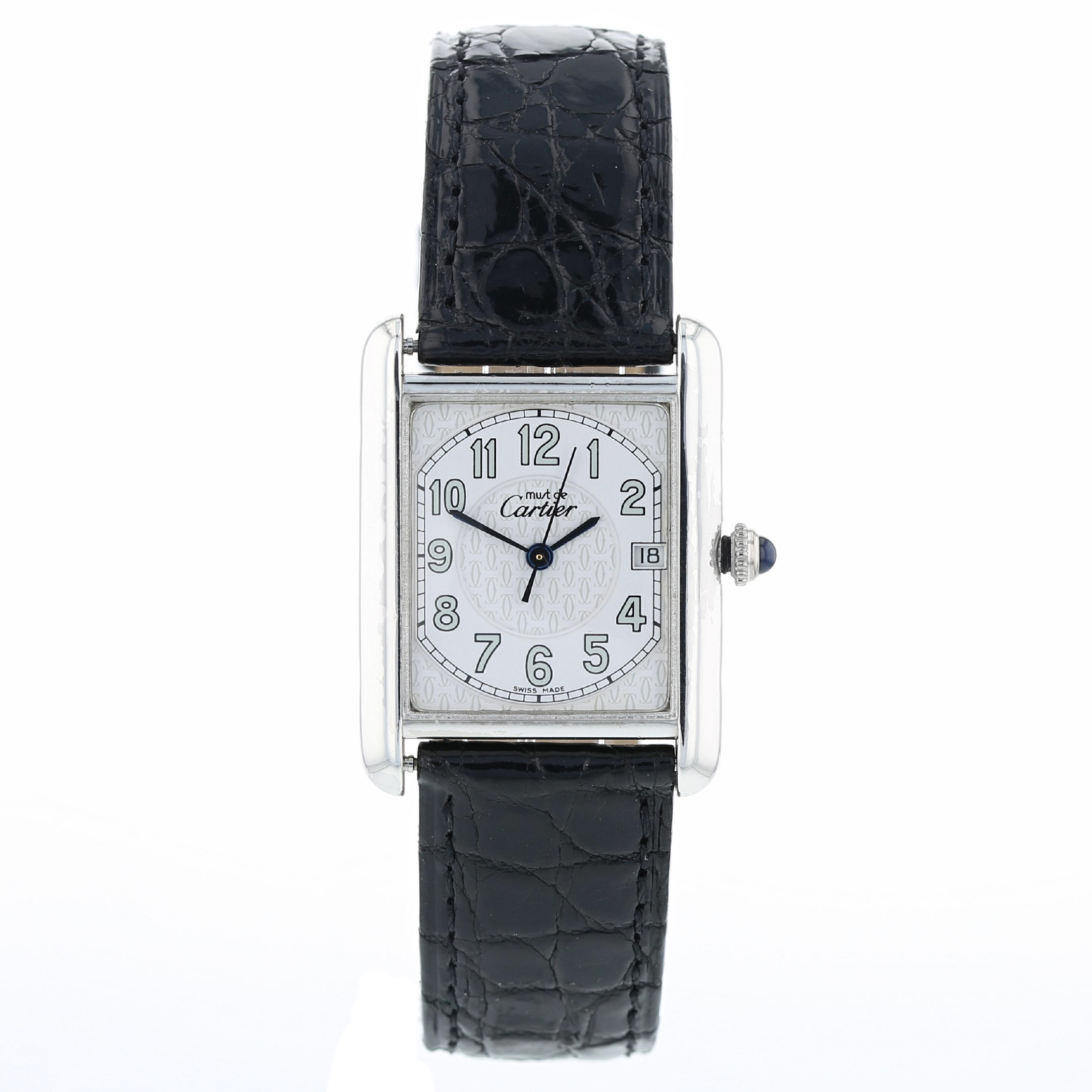 e7a4f77db61 Pre-Owned Tank Must de Cartier Mens Watch