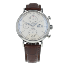 Pre-Owned IWC Portofino Chronograph Mens Watch IW391007