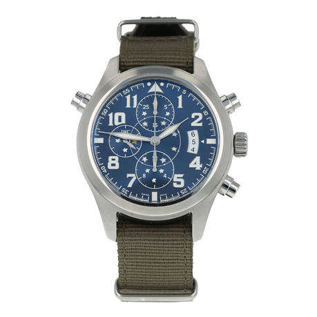 Pre-Owned IWC Double Chronograph Edition