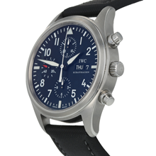 Pre-Owned IWC Pilots Chronograph Mens Watch IW371701