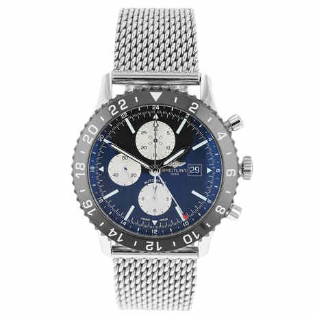 Pre-Owned Breitling Chronoliner GMT Mens Watch