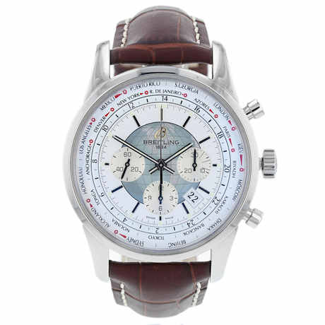 Pre-Owned Breitling Transocean Unitime Men's Watch