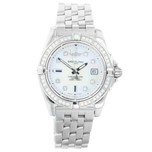 Pre-Owned Breitling Galactic 32 Ladies Watch A71356