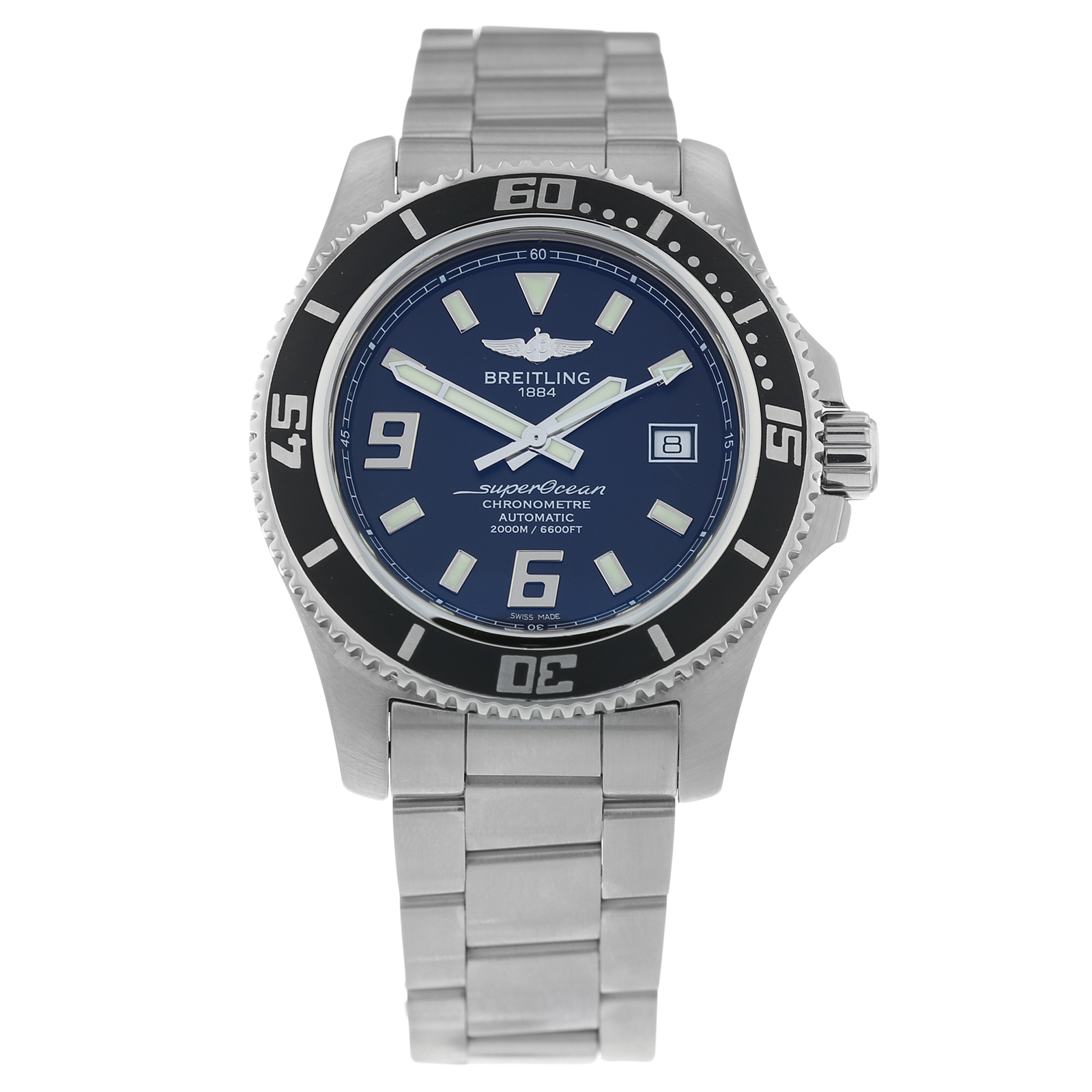 Pre-Owned Breitling SuperOcean Mens Watch A17391