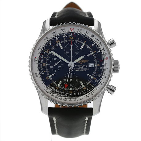 Pre-Owned Breitling Navitimer World Chronometer Mens Watch A24322