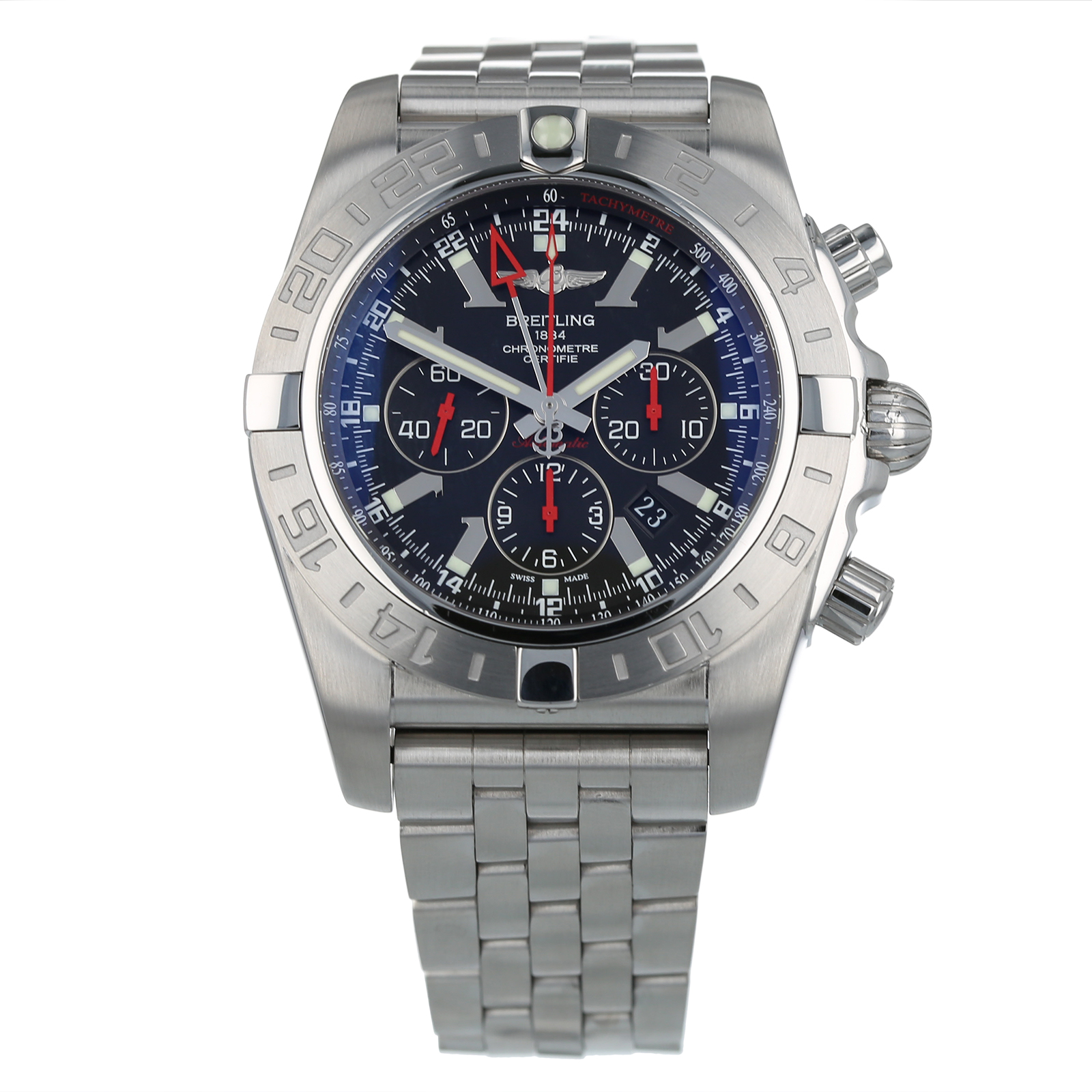 Pre-Owned Breitling Chronomat GMT Limited Edition AB0412
