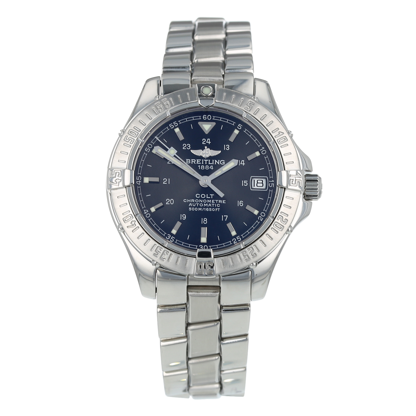 Pre-Owned Breitling Colt Mens Watch A17350