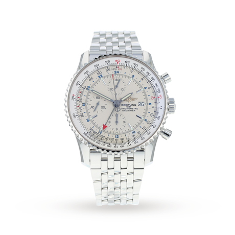 Pre-Owned Breitling Navitimer World Mens Watch A24322