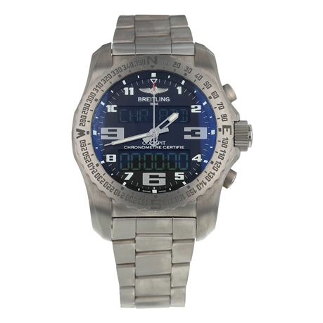 Pre-Owned Breitling Cockpit B50 Mens Watch EB5010