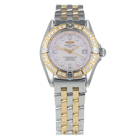 Pre-Owned Breitling Callistino Ladies Watch D72345