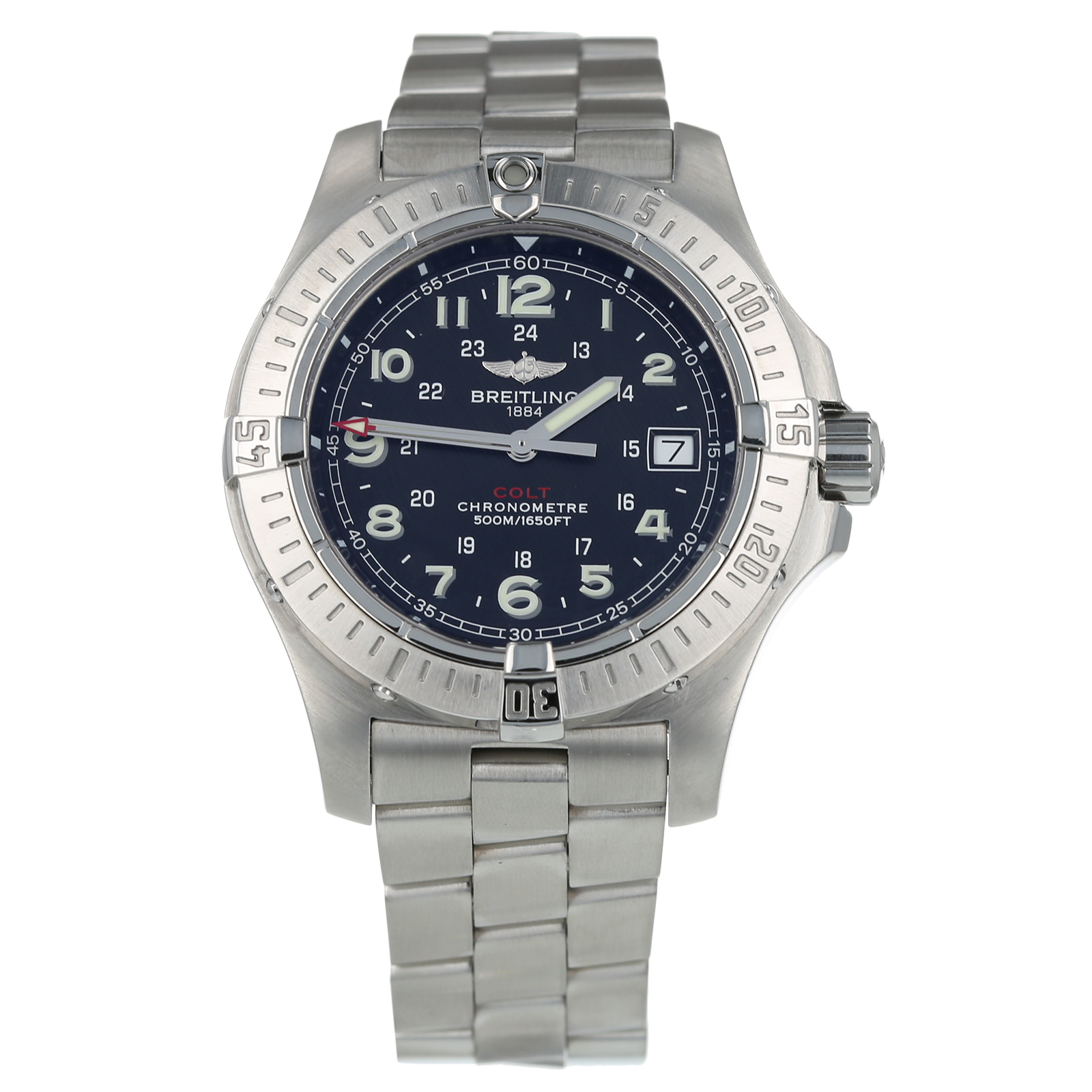 Pre Owned Breitling Colt Mens Watch A74380