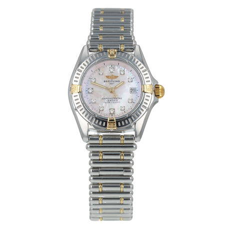 Pre-Owned Breitling Callistino Ladies Watch B72345