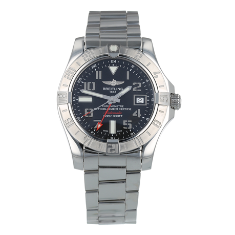 Pre-Owned Breitling Avenger II GMT Mens Watch A32390
