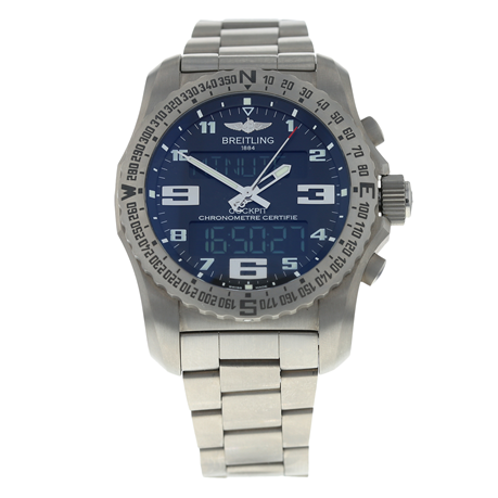 Pre-Owned Breitling Cockpit B50 Mens Watch EB501022/BD40