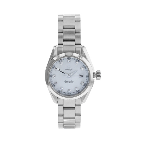 Pre-Owned Omega Aqua Terra Ladies Watch