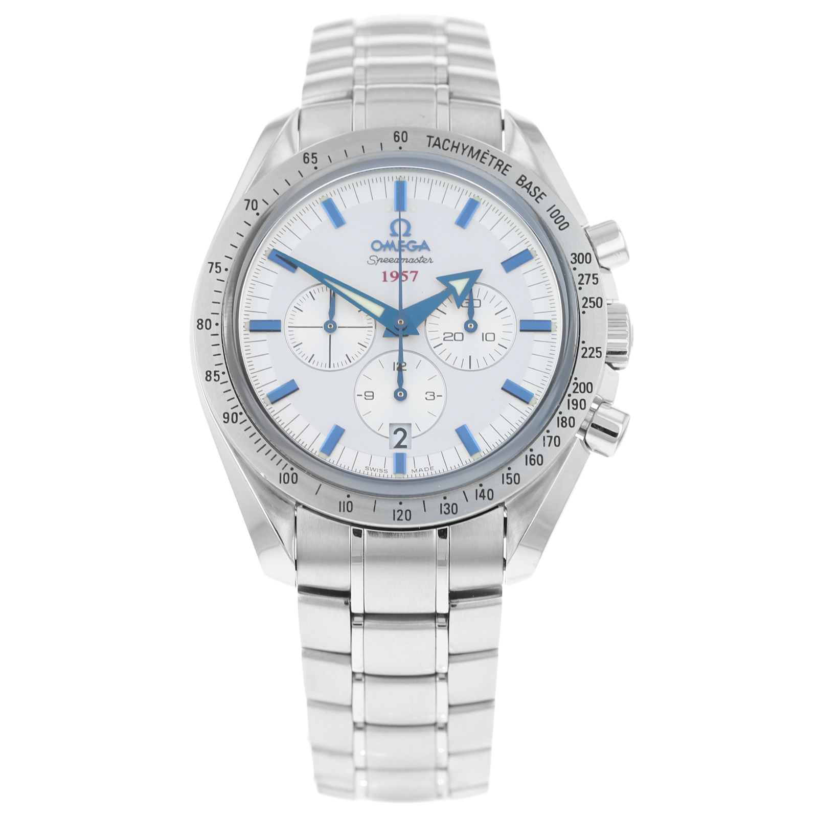 Pre-Owned Omega Speedmaster Broad Arrow Co-Axial Chronogr ...