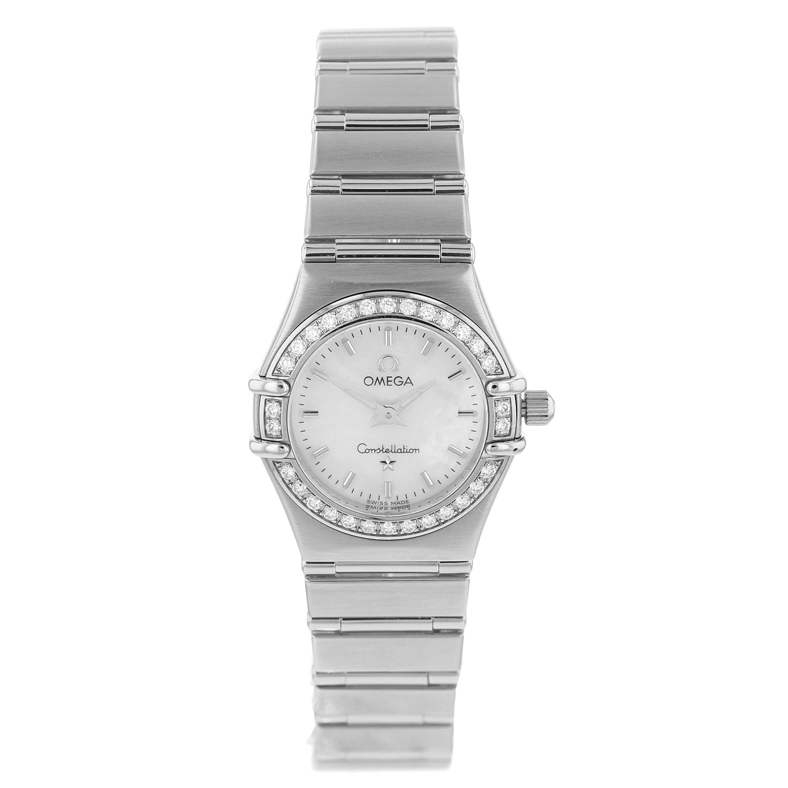 Pre-Owned Omega Constellation Diamond Bezel Ladies Watch