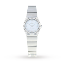 Pre-Owned Omega Constellation Ladies Watch 123.15.24.60.55.002