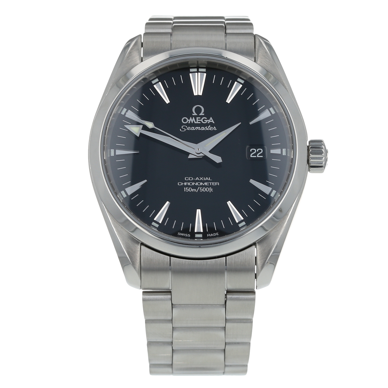 Pre-Owned Omega Seamaster Aqua Terra Chronometer Mens Watch 2503.50.00