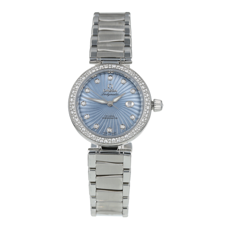 Pre-Owned Omega De Ville Ladymatic Ladies Watch 425.35.34.20.57.002