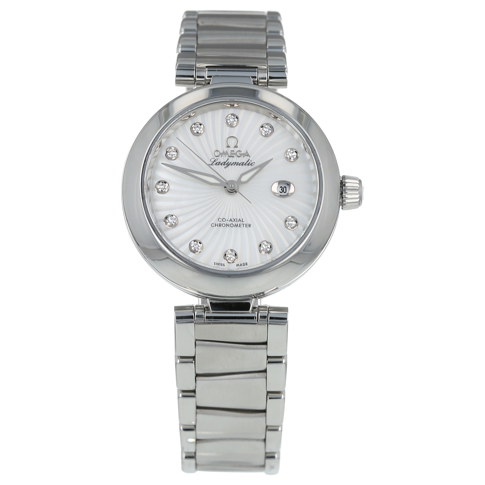 Pre-Owned Omega De Ville Ladymatic Ladies Watch 425.30.34.20.55.001