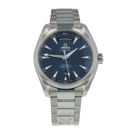 Pre-Owned Omega Seamaster Aqua Terra Day-Date Mens Watch 231.10.42.22.03.001