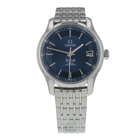 Pre-Owned Omega De Ville Hour Vision Mens Watch 431.33.41.21.03.001