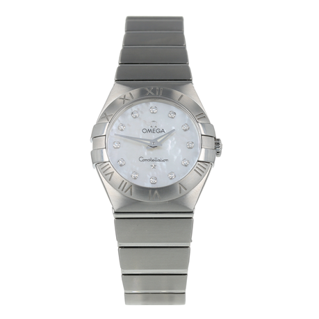 Pre-Owned Omega Constellation Ladies Watch 123.10.27.60.55.001