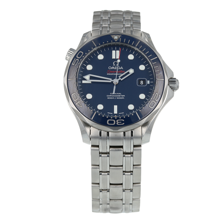 Pre-Owned Omega Seamaster Mens Watch 212.30.41.20.03.001