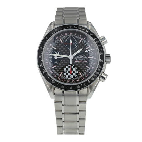 Pre-Owned Omega Speedmaster Day-Date Racing Michael Schumacher Mens Watch 3529.50.00
