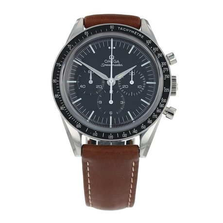 Pre-Owned Omega Speedmaster Moonwatch Chronograph Mens Watch 311.32.40.30.01.001