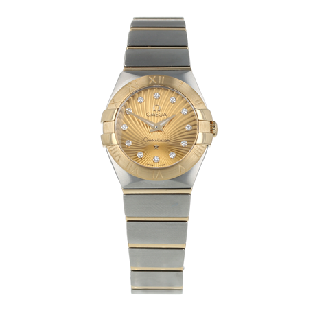 Pre-Owned Omega Constellation Ladies Watch 123.20.24.60.58.001